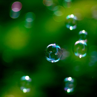jeff kubina - bubbles ipad wallpaper