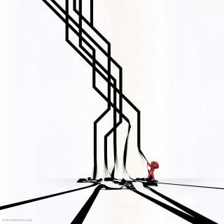 rob sheridan - troublemaker illustration ipad wallpaper