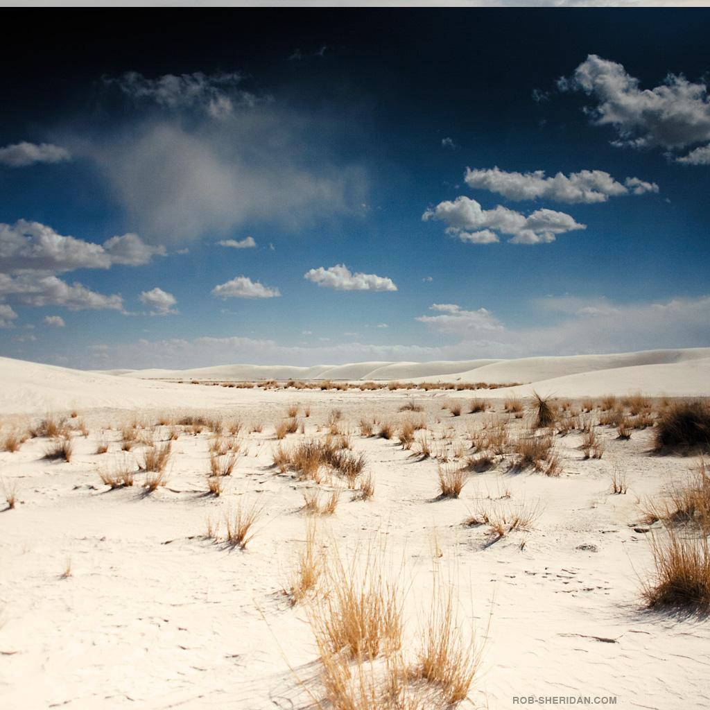 rob sheridan - desert landscape ipad wallpaper