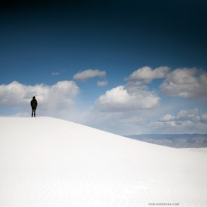 rob sheridan - white desert sand ipad wallpaper