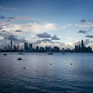 rob sheridan - panama city ipad wallpaper