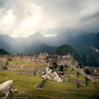 rob sheridan - machu picchu ipad wallpaper