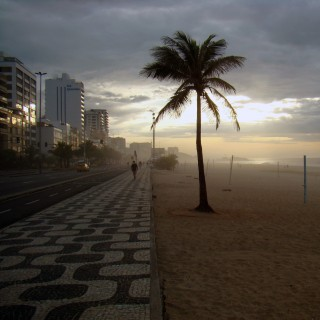 rodrigo soldon - amanhecer morning beach ipad wallpaper