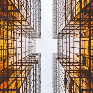 alex wong - building reflection ipad wallpaper