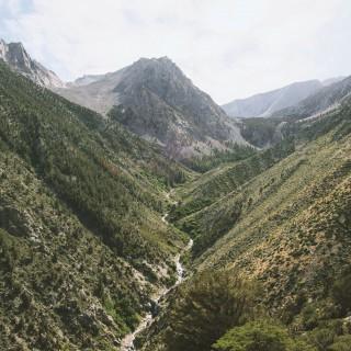 andrew collins - sierra nevada valley ipad wallpaper
