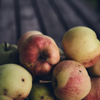 autumn apples ipad wallpaper