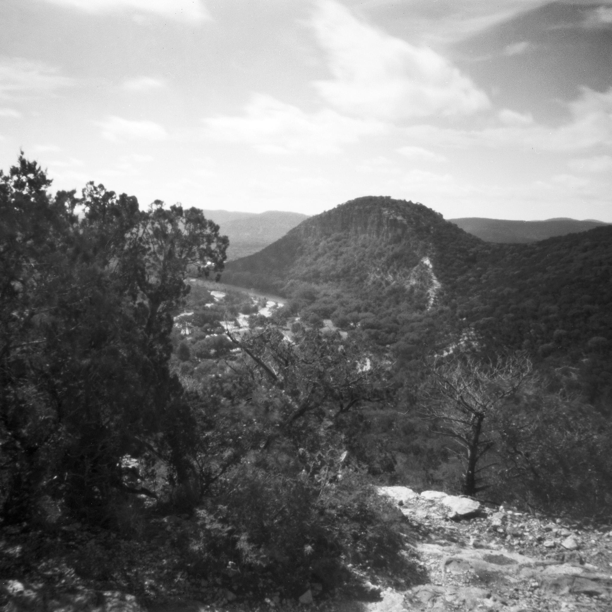 charles henry - garner state park black white mountain landscape ipad wallpaper