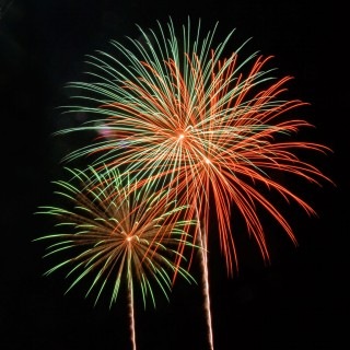 chris thompson - fireworks ipad wallpaper