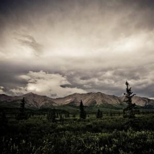 code poet - alaska landscape ipad wallpaper