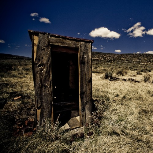 The Outhouses of Bodie: II by code poet Ipad wallpaper