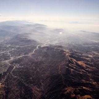 folkert gorter - aerial mountains ipad wallpaper