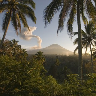 jeff werner - java indonesia tropical volcano ipad wallpaper