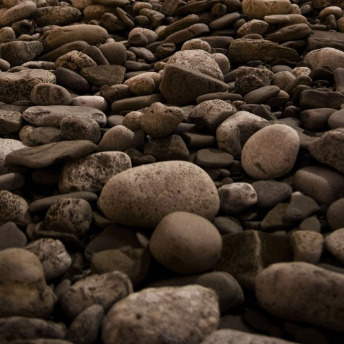 Rocky Beach at Lake Ontario by John A Ryan Ipad wallpaper