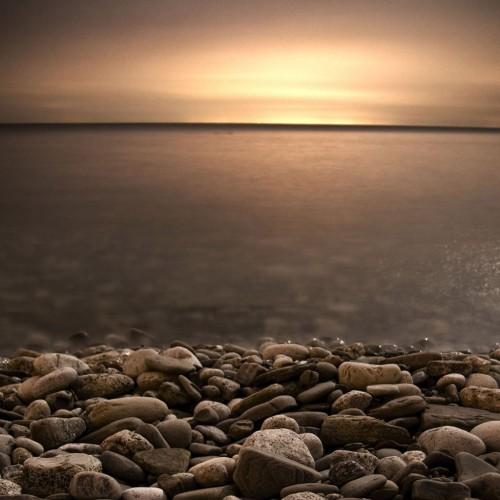 Lake Ontario at 30sec by John A Ryan Ipad wallpaper