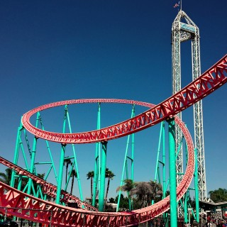 jvoves - xcelerator- roller coaster ipad wallpaper