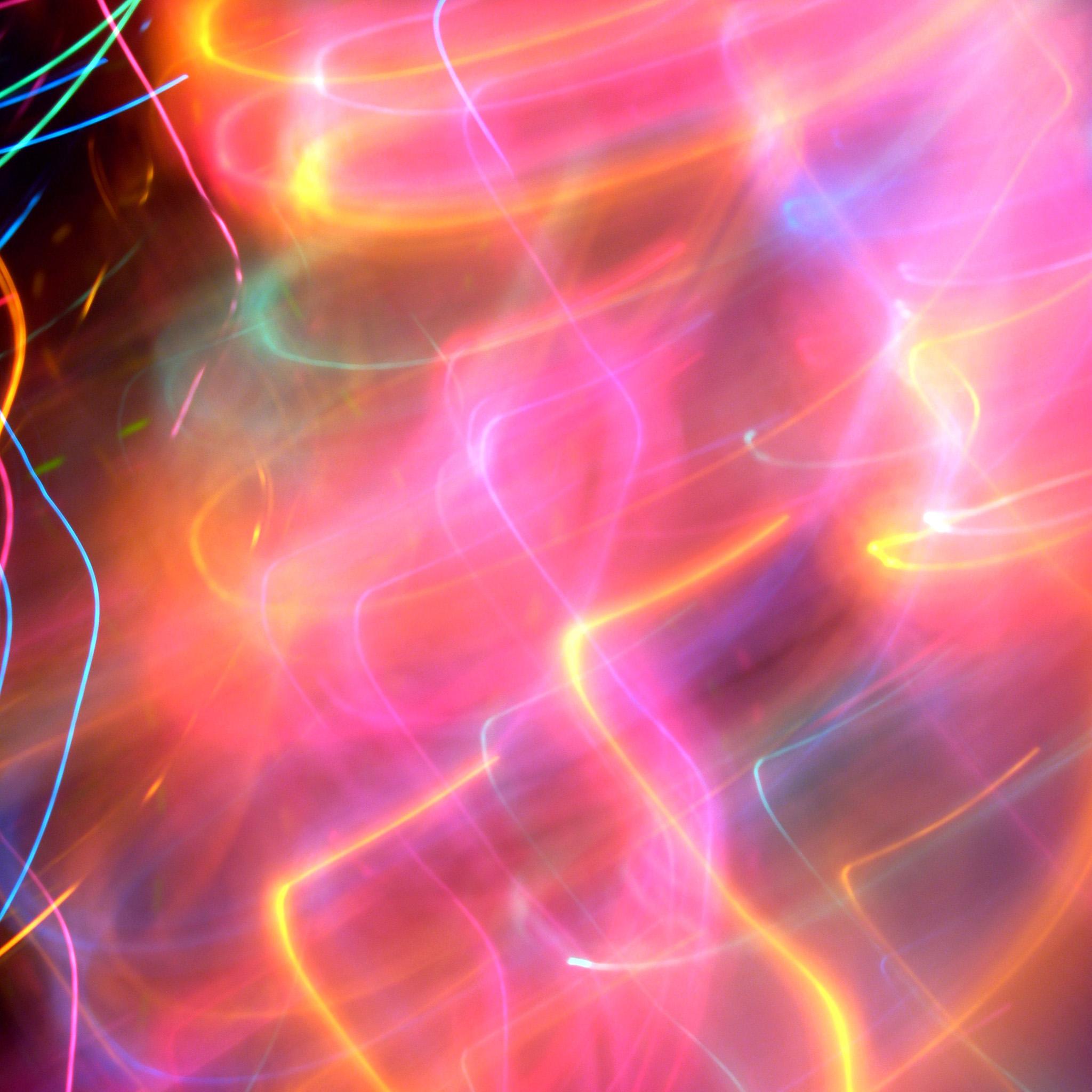 kevindooley - abstract color trails ipad wallpaper