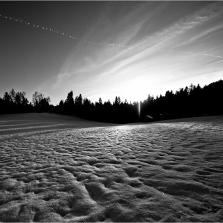 matthias rhomberg - black&white winter landscape ipad wallpaper