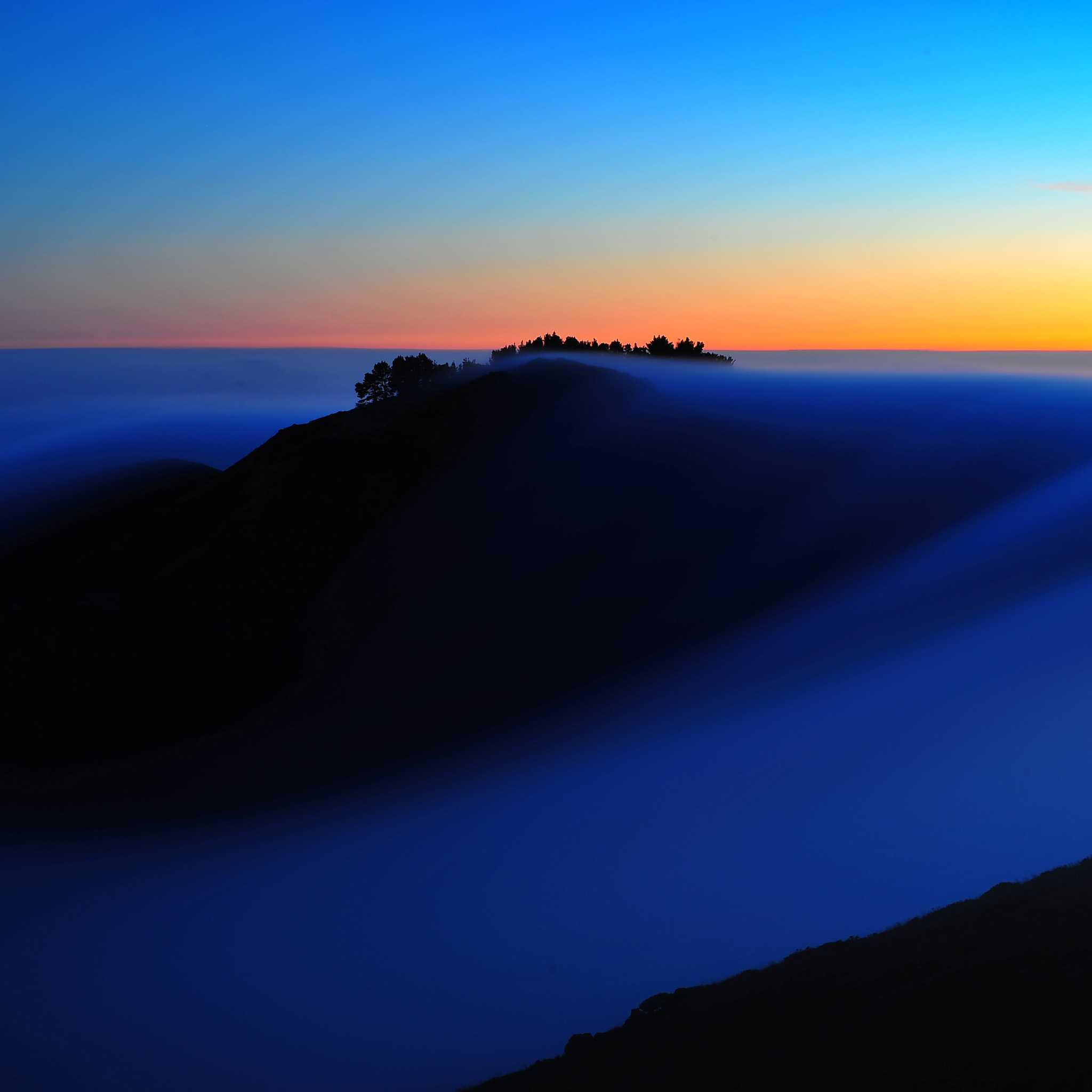 mike behnken - foggy dreamscape ipad wallpaper