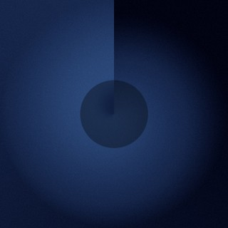 mrforscreen - blue circle ipad wallpaper