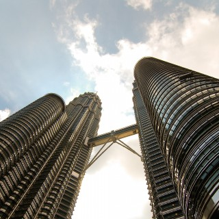nate robert - petronas twin towers ipad wallpaper