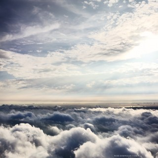 rob sheridan - sky clouds ipad wallpaper
