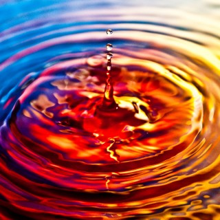 sergiu bacioiu - water drop ipad wallpaper
