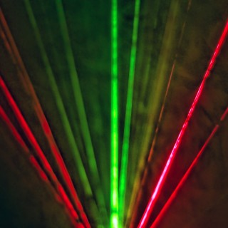 smackandtoss - colorful lasers ipad wallpaper