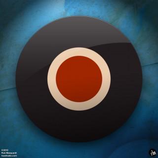 sometoast - bullseye illustration ipad wallpaper