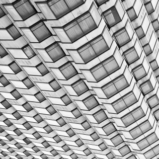 thomas hawk - abstract facade ipad wallpaper