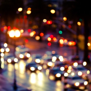 thomas hawk - blurry rainy street ipad wallpaper