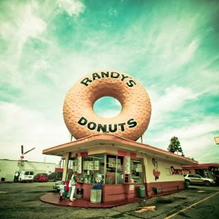 thomas hawk - randys donuts ipad wallpaper