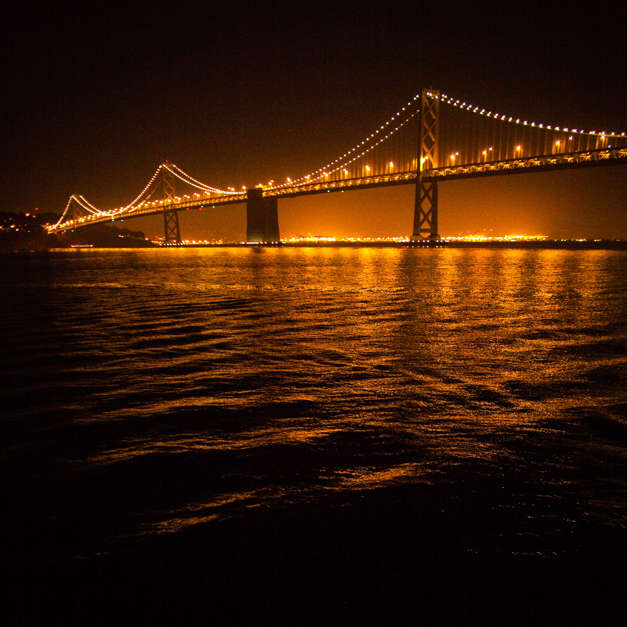 thomas hawk - ripple night time bridge ipad wallpaper