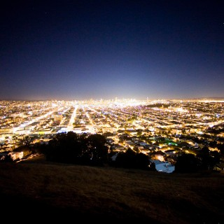 thomas hawk - san fransisco night ipad wallpaper