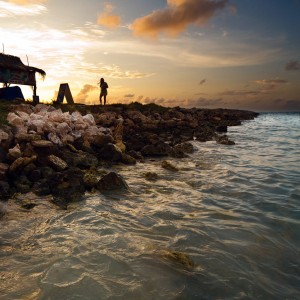totallysweetphotos - aruba beach sunset ipad wallpaper